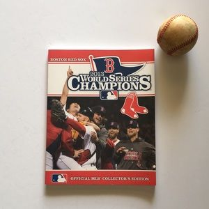 Boston Red Sox Coffee Table Book